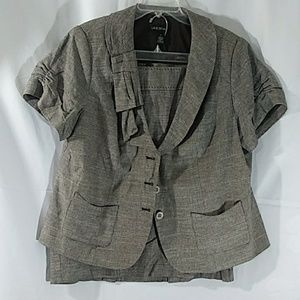 Lane Bryant Jacket & Skirt Set Size:22. NWOT